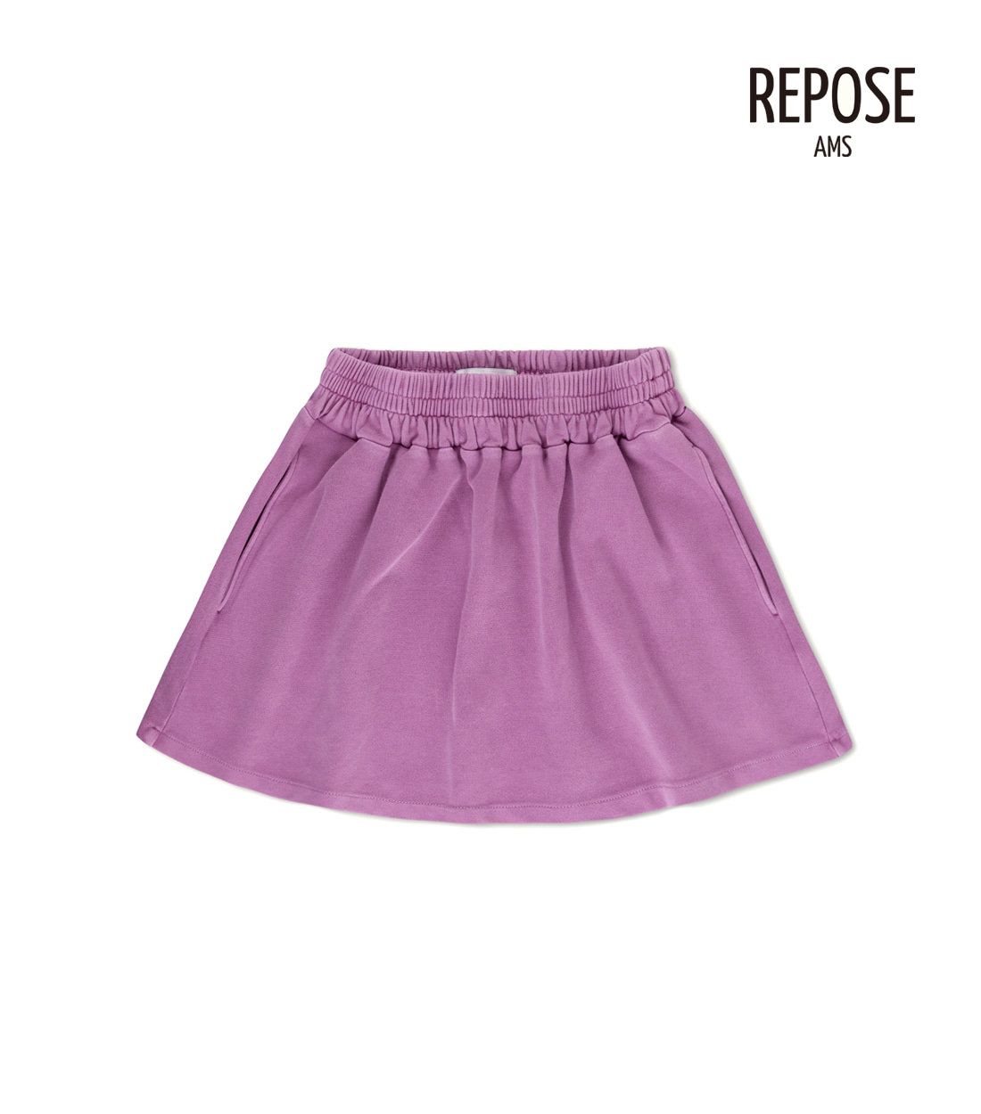 리포즈암스 SWEAT SKIRT / LILAC