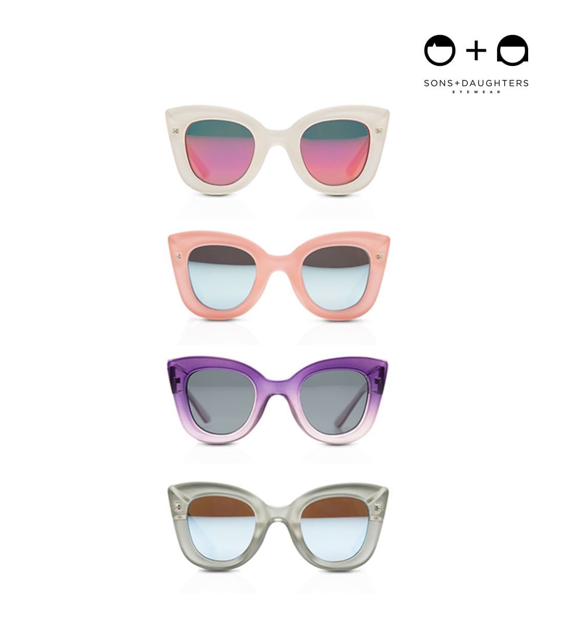 썬앤도터스 CAT CAT CRYSTAL / 4 COLORS