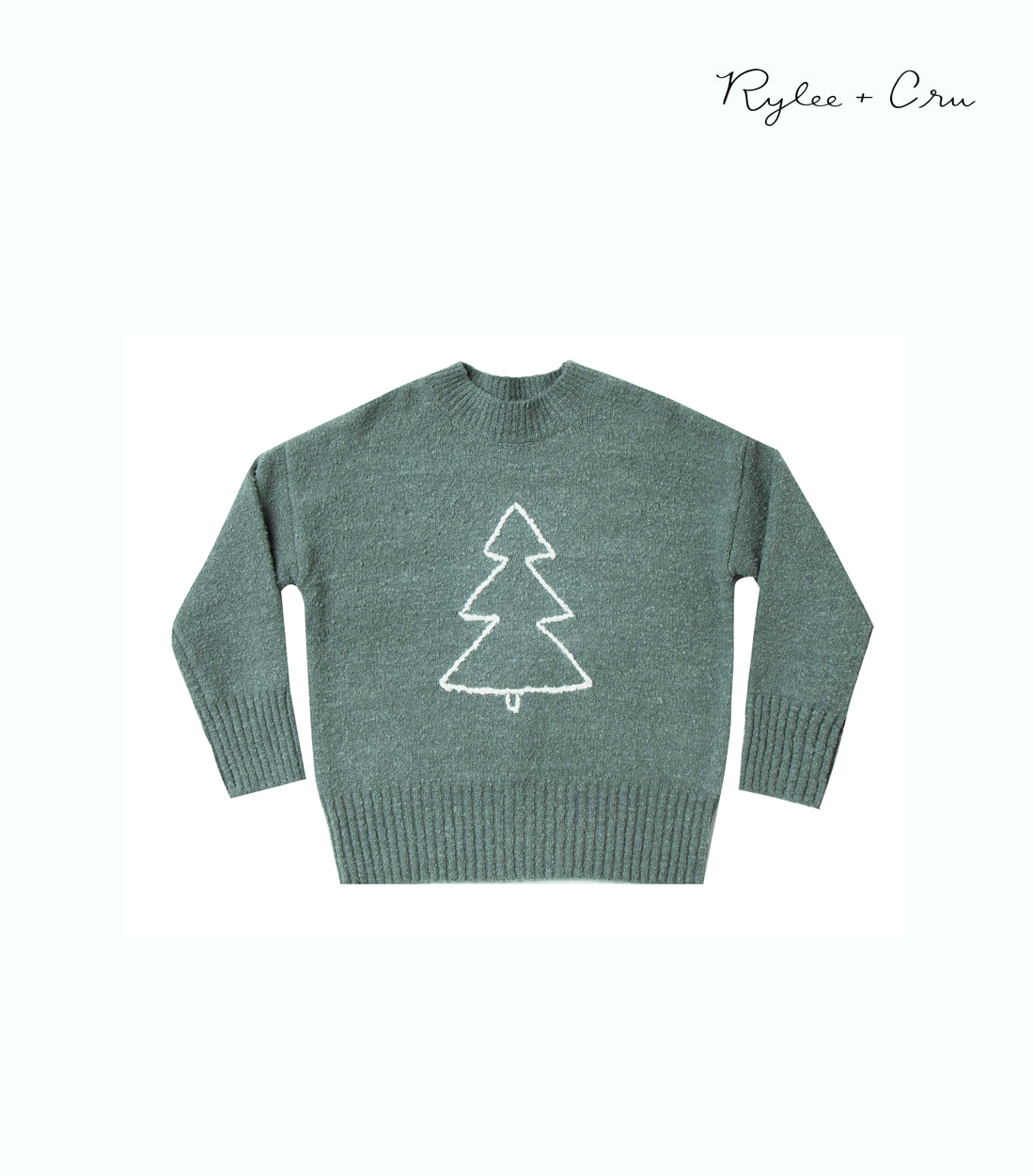 라일리앤크루 TREE CASSIDY SWEATER / SPRUCE