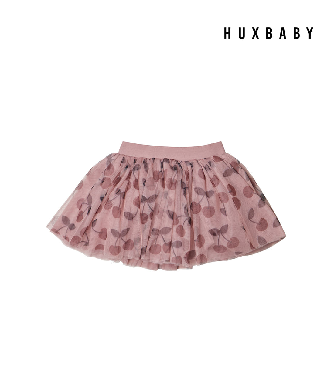 헉스베이비 CHERRY TULLE SKIRT / BERRY