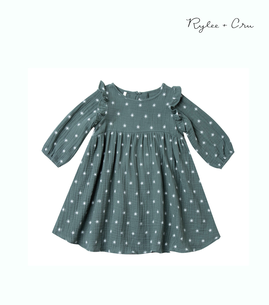 라일리앤크루 STAR PIPER DRESS / SPRUCE