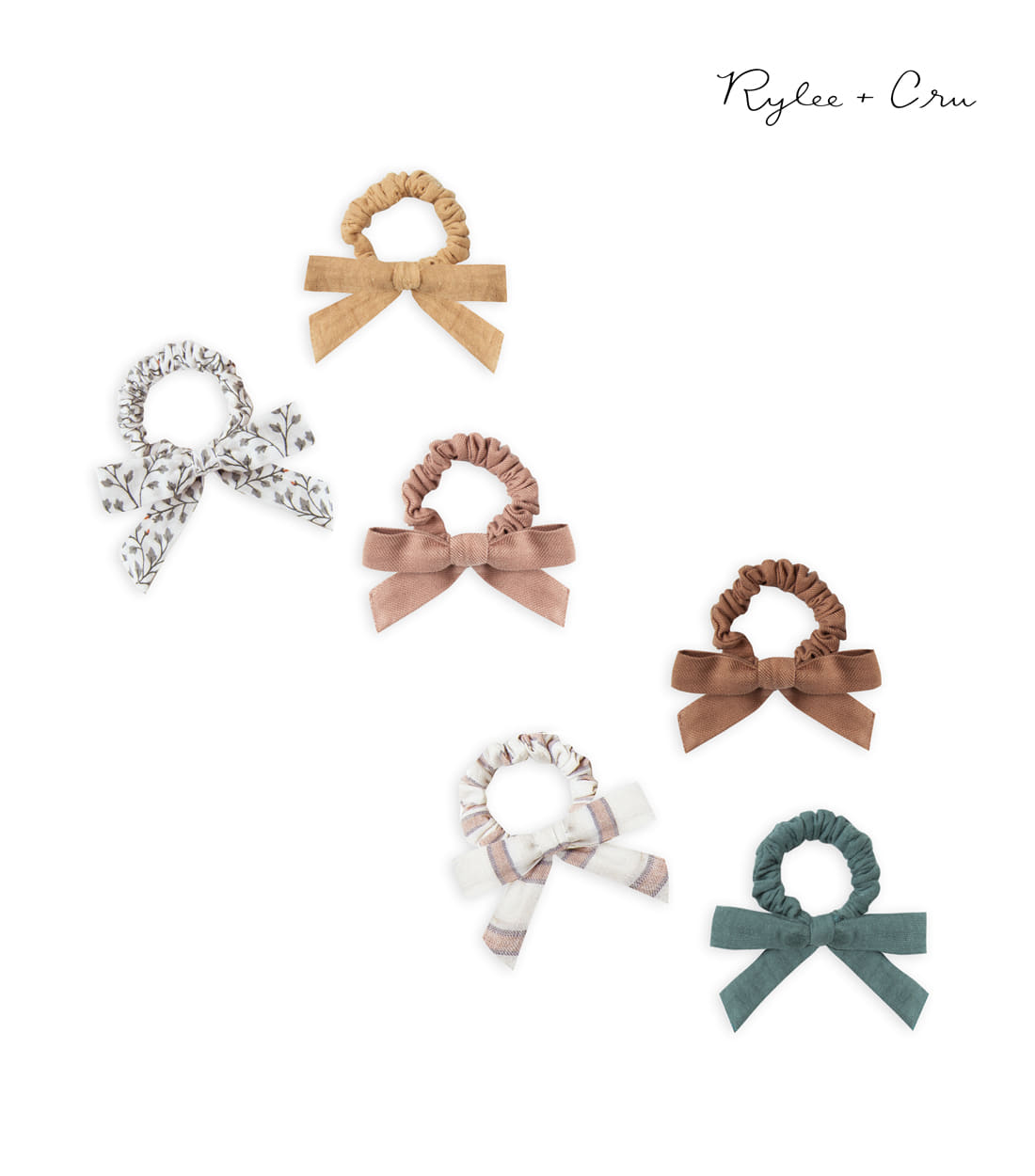 라일리앤크루 LITTLE BOW SCRUNCHIE SET