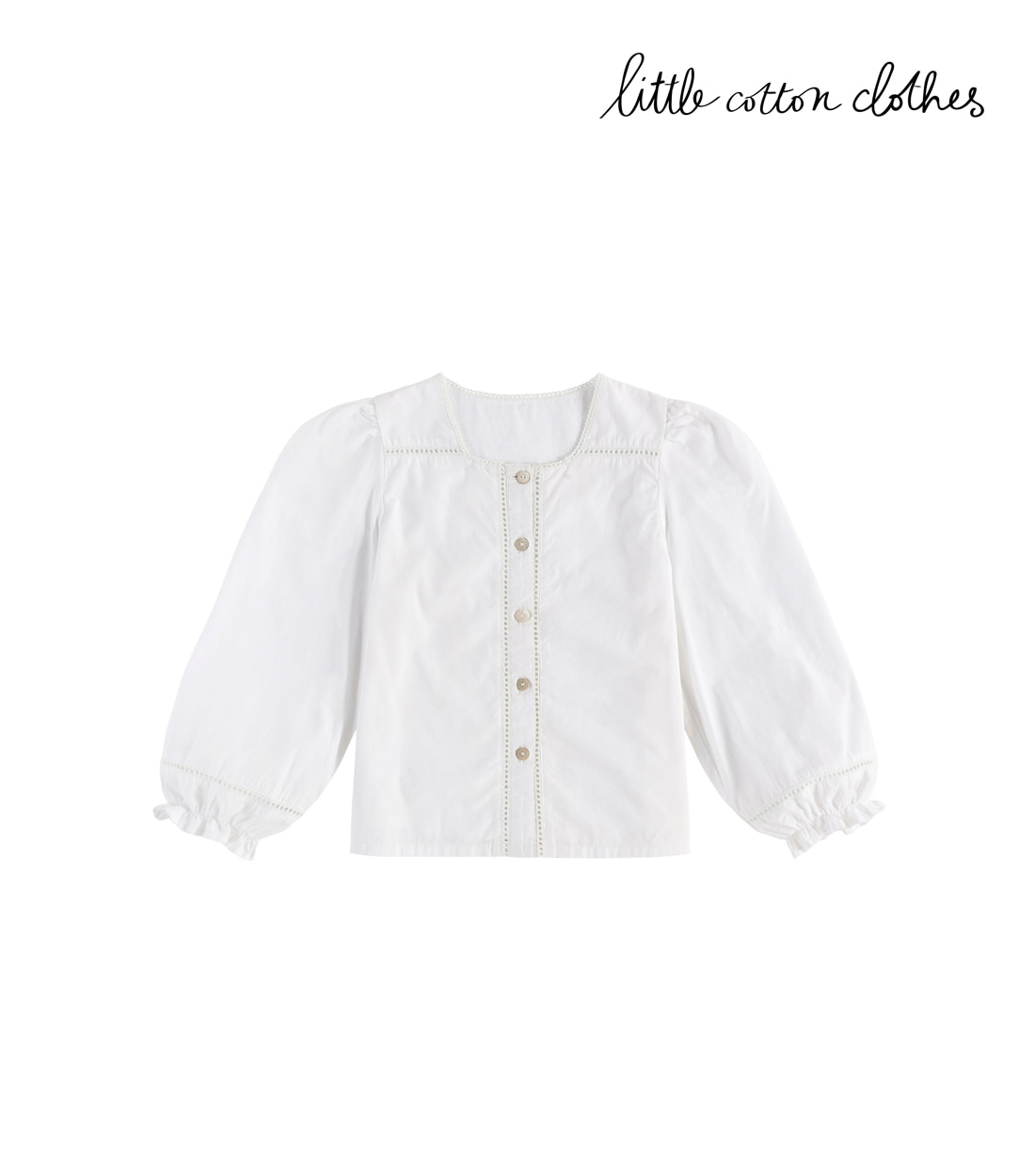 리틀코튼클로스 CONNIE BLOUSE / OFF WHITE