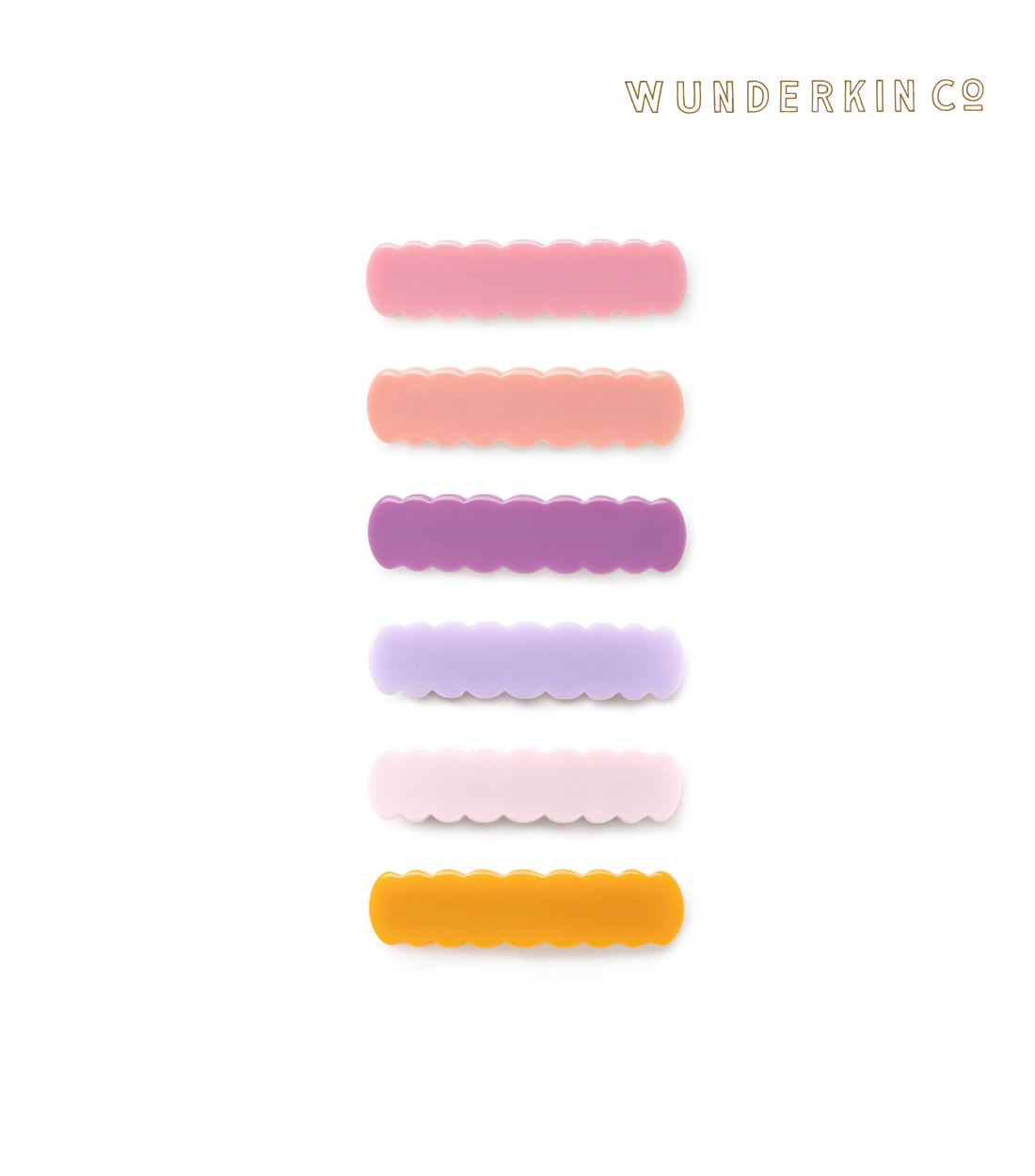 운더킨 SCALLOP CLIP / 6 COLORS