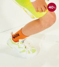 MSGM SOCKS UNISEX / 5 COLORS